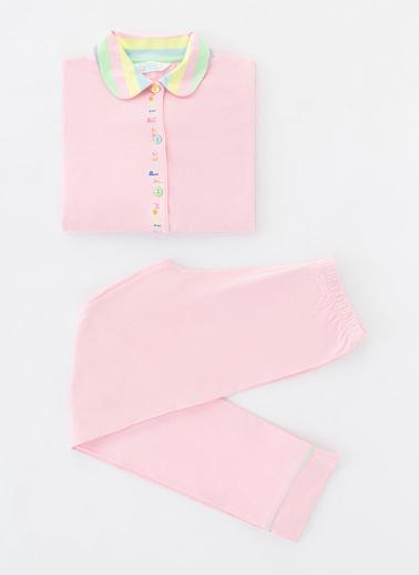 Penti Çok Renkli Kız Çocuk Joy Color Ls 2Li Gömlek Takımı Renkli